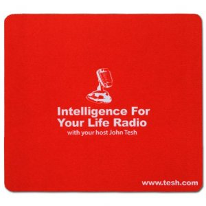 Intelligence For Your Life Radio Mousepad